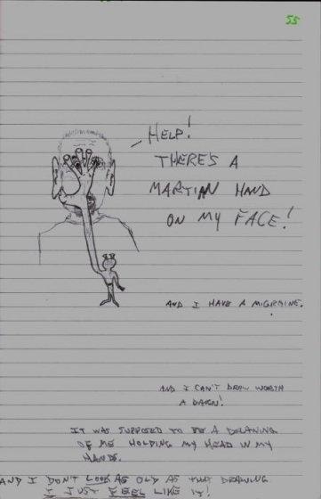 Martian Hand - 5/31/07