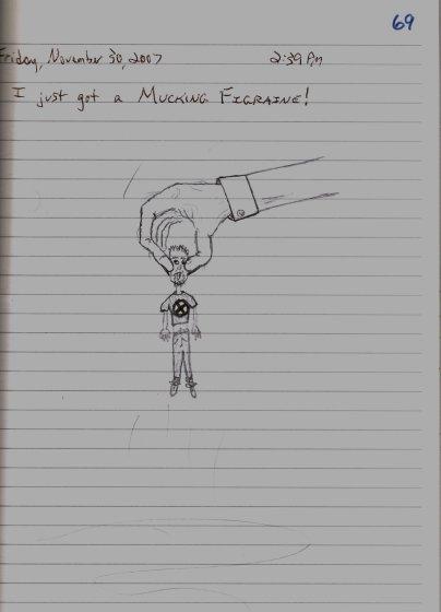 Mucking Figraine - 11/30/07