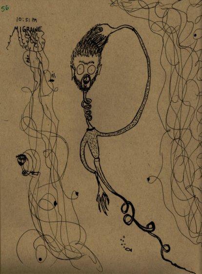 Migrainal Weirdness - 10/16/09