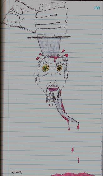 Dagger Head - 4/22/09