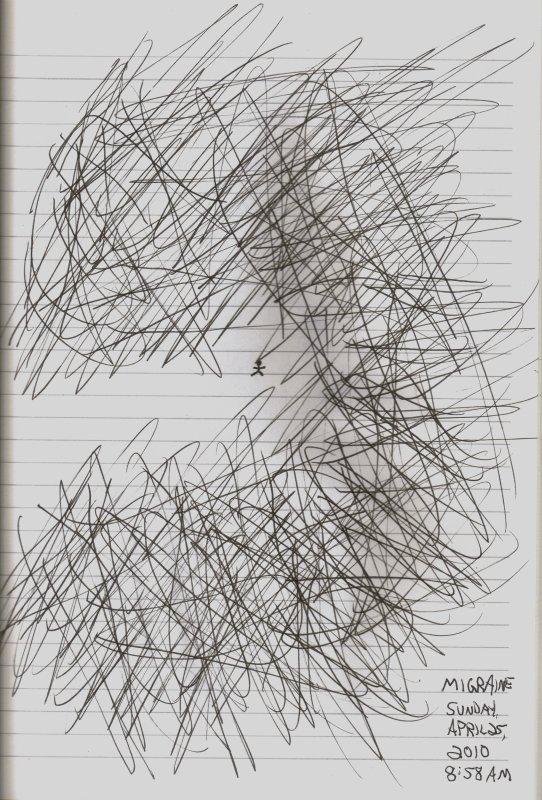 Scribble Aura - 4/25/10