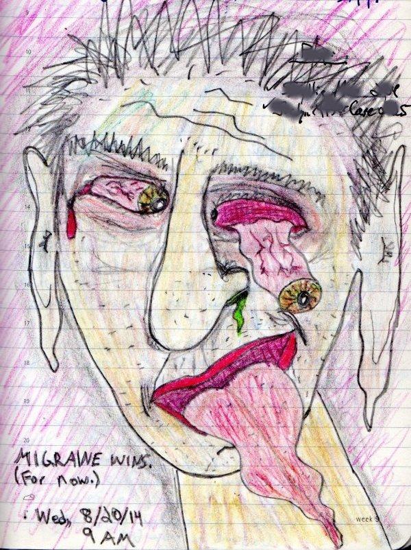 Migraine Art Gallery #9 (2014)