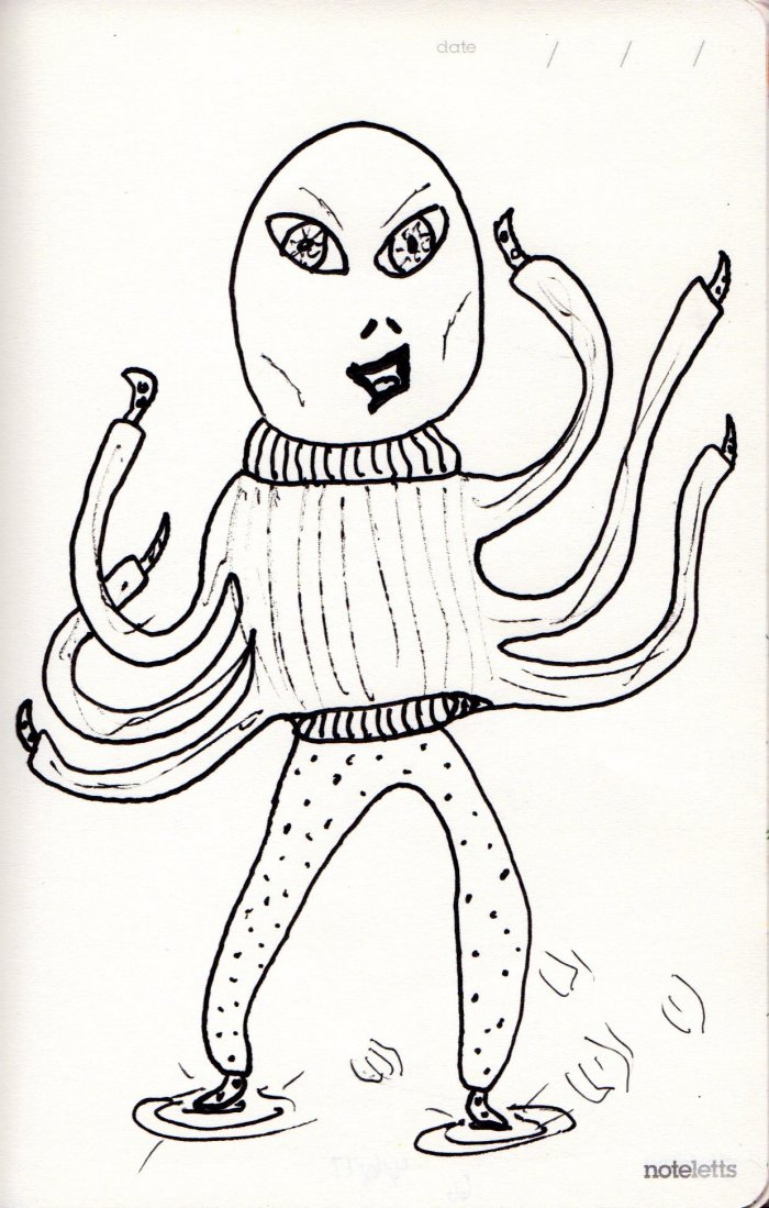 Armand Was Happy for a Night Off to Go Dancing in His New Turtleneck Sweater