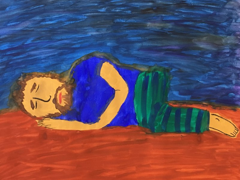 Sleep with Migraine, A Still Life