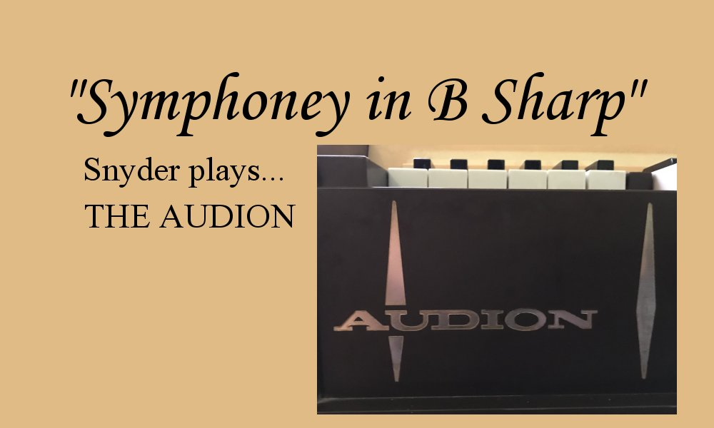 Snyder Plays the Audion